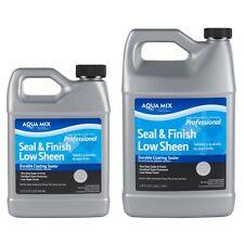 Aqua Mix Seal & Finish Low Sheen - Quart # 02552-CA-4