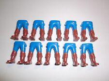 Playmobil 10 Caballero Guardia Piratas Piernas azul Botas marrones 5972 4869