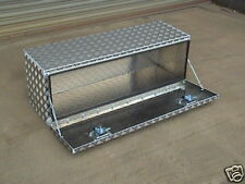 Alloy storage box daf sprinter scania recovery volvo transit daily flat bed