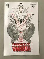 VENGEANCE of VAMPIRELLA 1 1:50 Frank Cho B/W Incentive Variant Dynamite Comics*