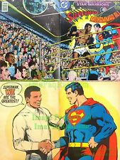Superman vs Muhammad Ali C-56 Limited Collectors Edition Very Nice Copy. RIP Ali