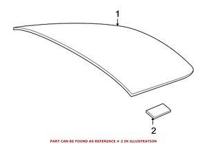For BMW Genuine Quarter Panel Glass Clip Rear 51377164933