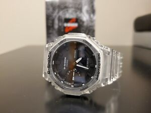 Casio Casioak G-SHOCK GA2100SKE-7A Transparent Wrist Sport Watch BNIB LAST ONE!