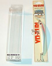 MAG MINNOW YO ZURI F302 RB floating artificiale lure yozuri magnet series 85 mm