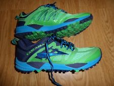 BROOKS CASCADIA 11 TRAIL RUNNING SHOES MEN'S 8 M RTL $120