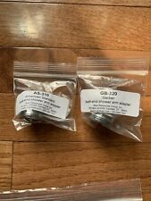 American Standard and Gerber Ball-end Shower Arm Adapters