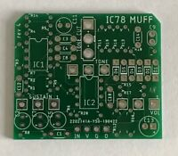 Big Muff 1978 IC version PCB  DIY guitar effects pedal. New version w/ Tone Cut