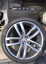 VW Golf 7 Salvador 18 Zoll Felgensatz Winterreifen Pirelli 225/40 5G0601025 AF