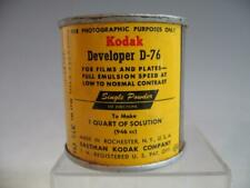 Kodak Developer D-76 3-1/2 Ounce Can Makes 1 Quart #W