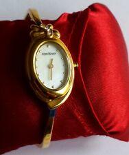 Fontenay of Paris Ladies Quartz Cuff Bracelet MOP Fashion Watch in Box