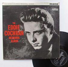 """Vinyle 33T Eddie Cochran  """"Memorial album"""""""
