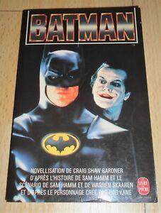 «Batman» Craig Shaw Gardner (Poche n°6707 novellisation, 1989)