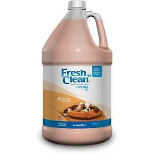Fresh Floral Scented Creme Pet Rinse Professional Dog & Cat Concentrate Gallon