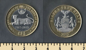 Biafra 25 pounds 2012 - unusual
