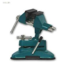 Tischschraubstock Schraubstock PROFI mit Kugelgelenk & Saugfuss drehbar 70mm