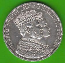 Preußen Krönungstaler 1861 besser als vz sehr hübsch nswleipzig
