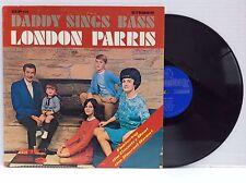 London Parris Daddy Sings Bass (Blackwood Bros. Rebels) solo vinyl LP MINT!