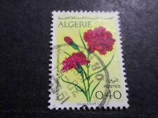 ALGERIE, 1969, timbre 485, FLEURS, oblitéré,  VF used stamp