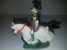 BRITAINS LTD. SWOPPET 15TH CENTURY KNIGHT ON HORSE
