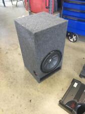 "Kicker Comp R 12"" Speaker and Box"