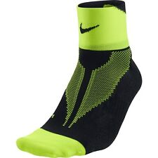 Nike Elite Lightweight Quarter Running Stay Cool Socks SX4953-072 Men 14-16