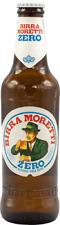 BIRRA MORETTI ZERO Cassa da 24 bottiglie x 33 cl analcolica lager italiana