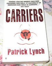 CARRIERS Patrick Lynch SUSPENSE Thriller Novel Book PB