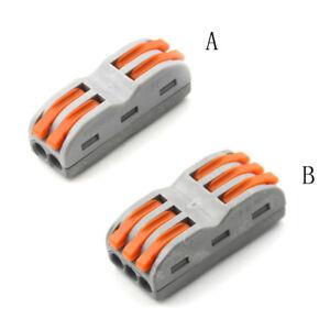 10pcs câblage électrique bornes connecteurs rapides lampes lanternes-xd