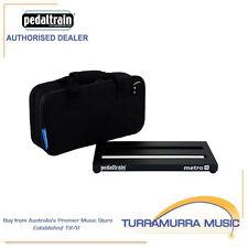 Pedaltrain Metro 16 Guitar Pedal Board w/ Heavy Duty Soft Case Bag PT-M16-SC