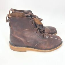 NWOB Mens Size 8 M Clarks Mali Desert Boots Chukka Shoes Brown Rust Leather