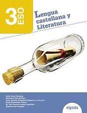 Lengua Castellana y Literatura 3º ESO. NUEVO. Envío URGENTE. LIBRO DE TEXTO