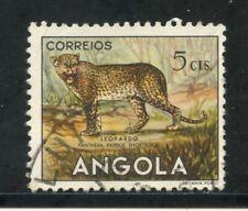 1953 - ANGOLA - 5c. LEOPARDO - USATO - LOTTO/29021