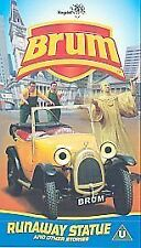 BRUM - RUNAWAY STATUE - VHS pal VIDEO - good condition