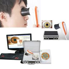5.0MP USB Iriscope Iris Analyzer Iridology LED Camera Tester+Lens Cover Focus CE