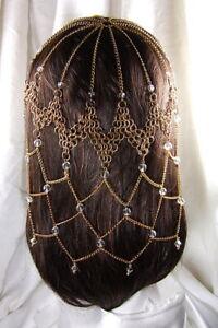 Game of Thrones Crystal Chainmail Headdress Dark Crystal Steampunk Bellydance