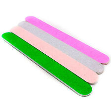 2pcs x Nail Art Double-Sided Sandpaper Sponge Sanding files Buffing Tool A0248