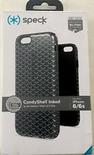 Speck CandyShell Inked LuxuryEdition Case-Woven Geo Charcoal/BLK for iPhone 6s/6
