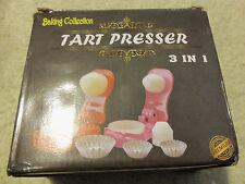 Pastry tart presser 3 in 1, as Baking Tool
