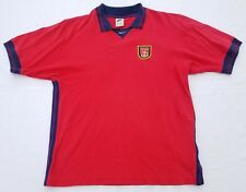 Nike Arsenal Gunners polo shirt men sz M vintage 90s made in Portugal soccer