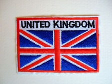 Union Jack Iron/Sew on Applique Patch, Badge, Motif UK SELLER