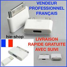 Adaptateur Micro USB 5 PIN vers 30 broches mâle iPhone 3 / 4 / 4S iPad 2 / 3
