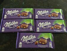 80 Tafeln Milka Ganze Haselnüsse  Schokolade a 100 Gramm = 8 kg