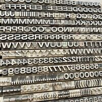 36p HELVETICA breithalbfett Bleisatz Handsatz Bleilettern Letterpress Druckerei