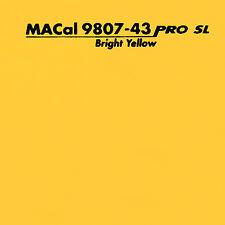 1 m (13,95 € /m) Autofolie, PKW KFZ Folie sonnengelb glänzend 61,5 cm
