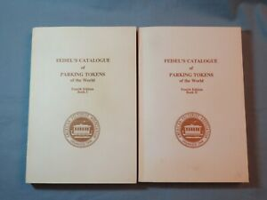 Book - Feisel's Catalogue of Parking Tokens of the World - 4th Edition 2 volumes