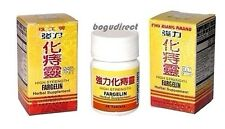 12 x 36 Pills, High Strength Fargelin Hemorrhoid Treatment Chu Kiang Brand 強力化痔靈