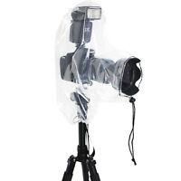 2x Housse Protection Etanche Anti-pluie DSLR Appareil Photo Objectif / 25x16cm