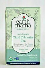 Organic Tea Herbal Mint Blend 3 Pack Sealed Brand New Earth Mama Third Trimester