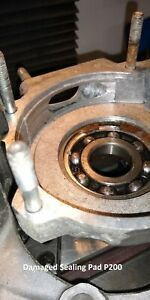VESPA PX Rally 200 engine case sealing pad repair