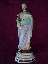 ANCIENNE STATUE RELIGIEUSE/ SAINT JOSEPH / BISCUIT D'ANDENNE/XIXéme/ H.37 cm
